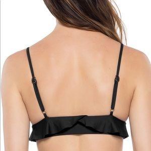 BECCA Swim - Becca Socialite Ruffle Bralette Halter Bikini Top